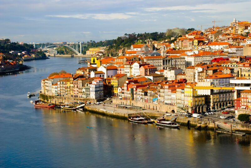 Fly Drive Porto - oude stad
