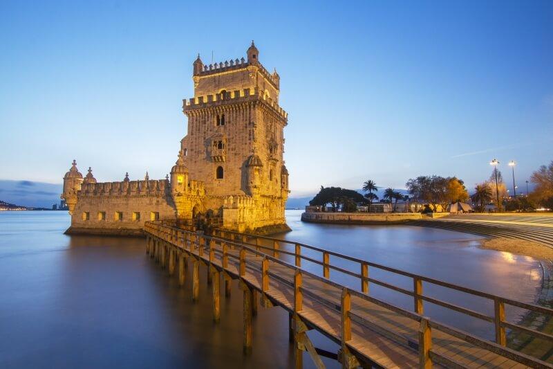 Fly Drive Lissabon toren van Belem