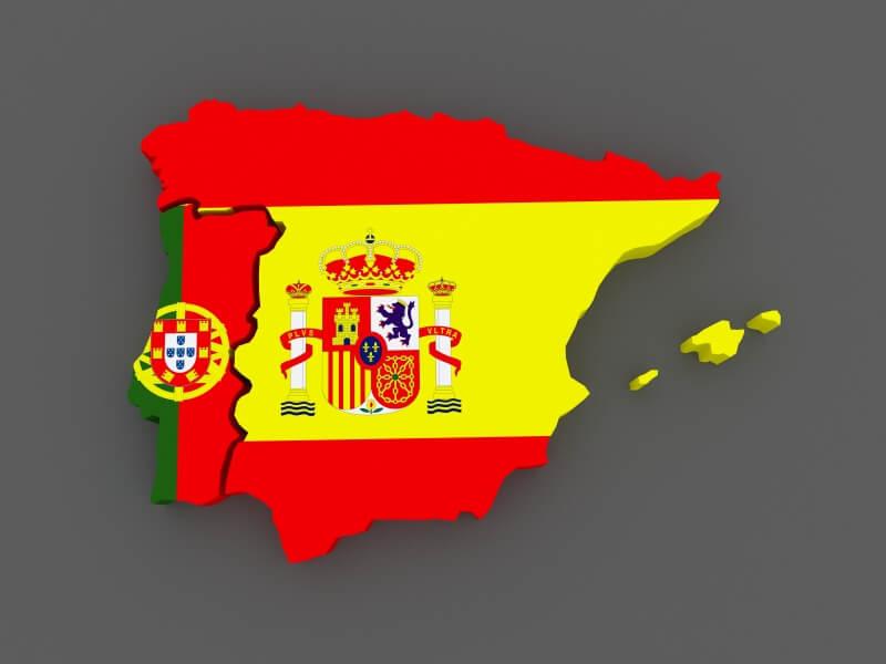 Portugal en Spanje