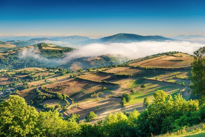 Galicie Spanje Portugal reis