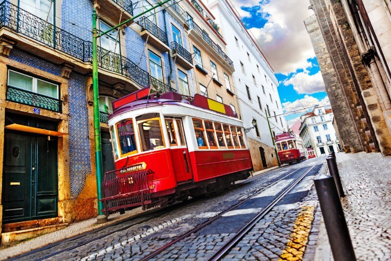 Azulejos in Lissabon